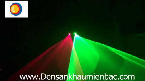 đèn laser 2 cửa 2 màu xanh lá, đỏ