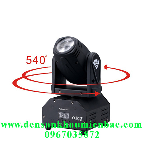 đèn moving mini 10w