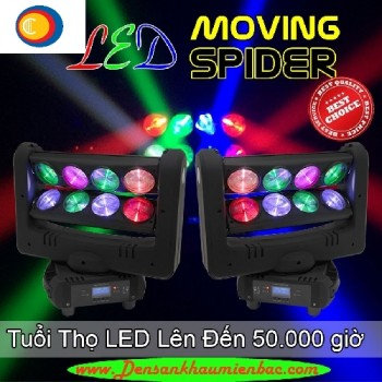 led spider moving