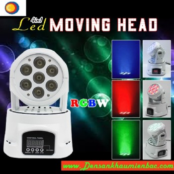 moving head mini 7x10w 1