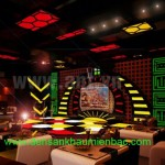Các loại đèn dùng cho phòng hát karaoke tại hà nội