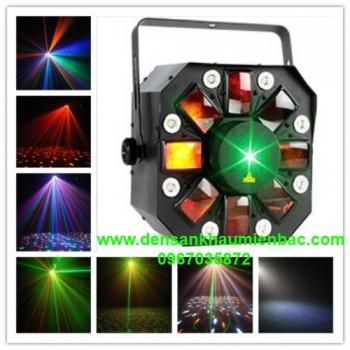 đèn 3 trong 1 chớp laser led