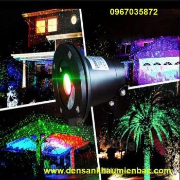 đèn laser trang trí sân vườn ngày tết