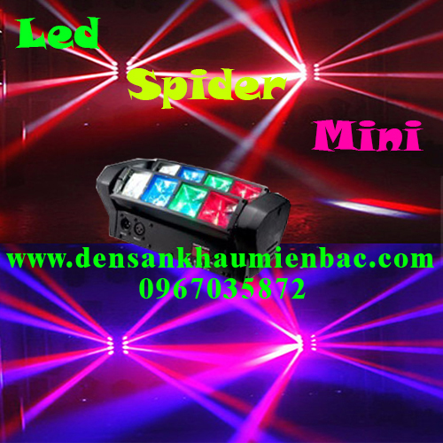 Đèn led spider mini