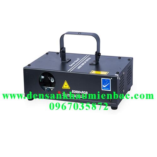 đèn laser b2000 rgb 1 cửa 7 màu