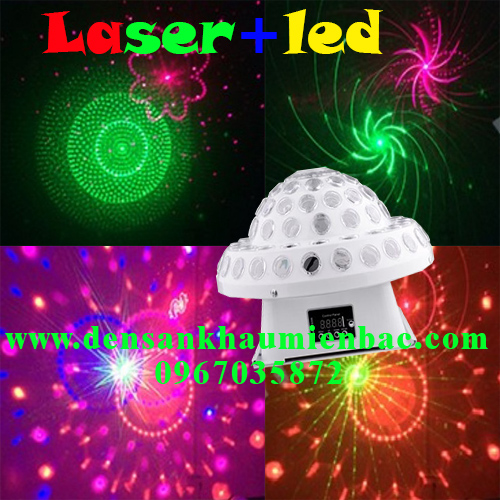 Đèn nấm đĩa bay laser, led