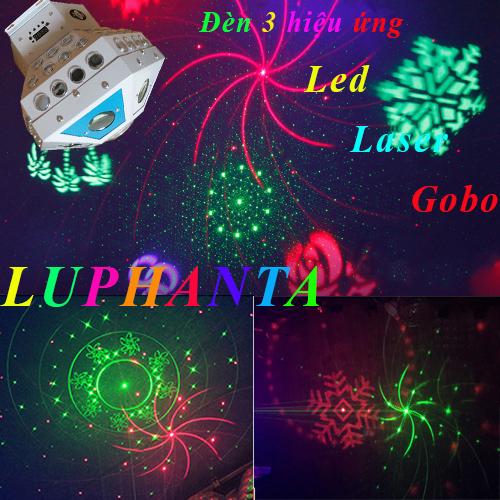 Đèn 3 hiệu ứng luphanta, đèn phòng hát karaoke