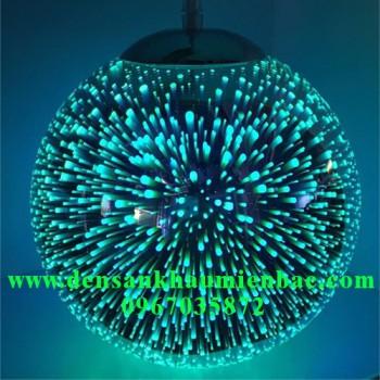 đèn trang trí nghệ thuật quả cầu