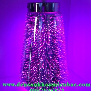 đèn trang trí nghệ thuật ruột phích đổi màu