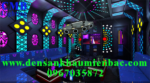 Lắp đặt đèn phòng hát karaoke