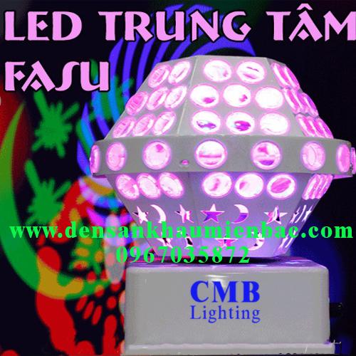 đèn led xoay fasu 2 hiệu ứng