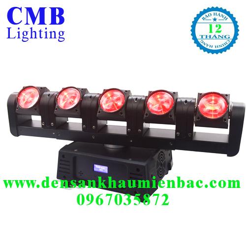 đèn moving thanh 5 đầu rgbw