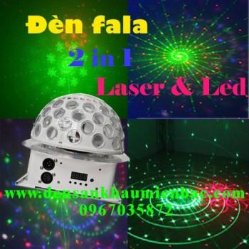 Đèn fala 2 trong 1 laser led
