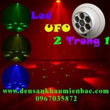 Đèn led ufo 2 trong 1