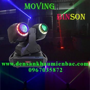Đèn moving binson 2 đầu