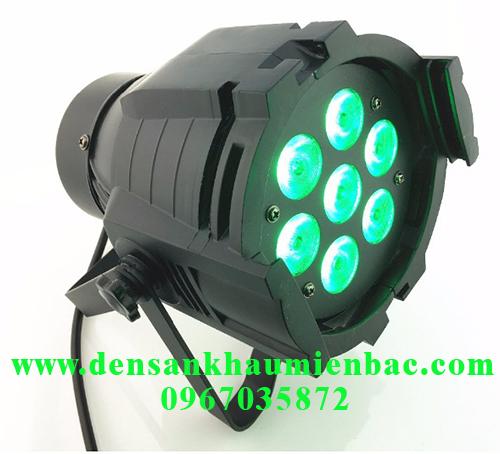 đèn par led 7x10w 4 in 1 rgbw