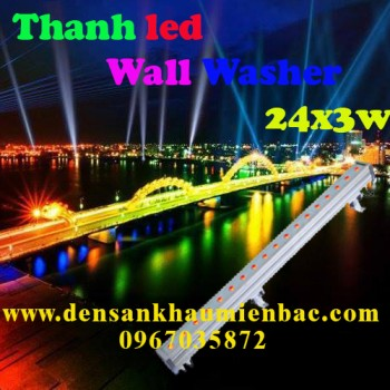 Thanh đèn led 24x3w wall washer