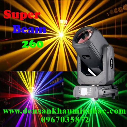đèn moving beam 260w