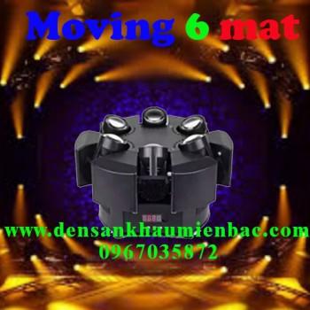 đèn moving 6 mắt