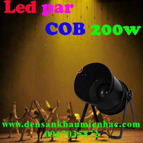đèn par led cob 200w
