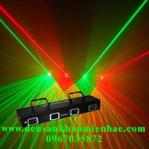den-laser-4-cua-2-mau-xanh-do